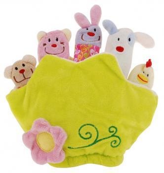 Puppet Fun Rukavička - prstové bábky