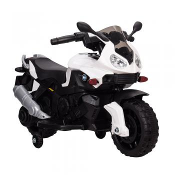 Elektrická motorka Shadow biela