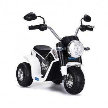 Elektrická motorka MiniBike biela