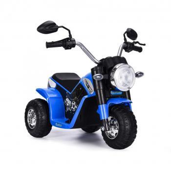 Elektrická motorka MiniBike modrá