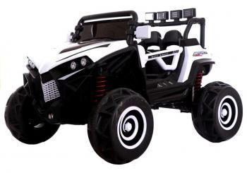 Elektrické autíčko Buggy XJL588 biela