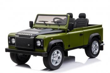 Elektrické autíčko Land Rover zelené