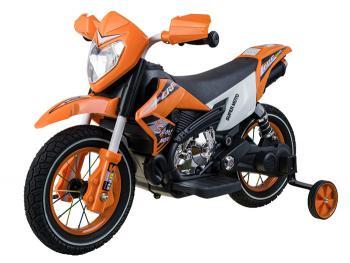 elektrická motorka Cross s nafukovacími kolesami