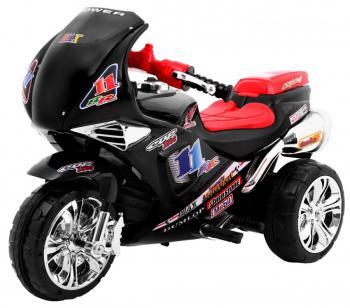 Elektrická motorka RR1000 6V čierna