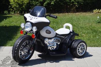 Elektrická motorka Chopper čierna
