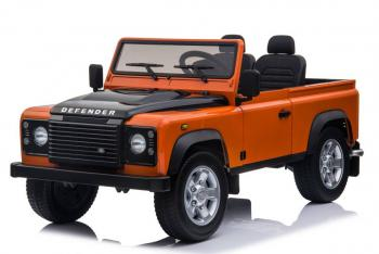 Elektrické autíčko Land Rover DEFENDER oranžový