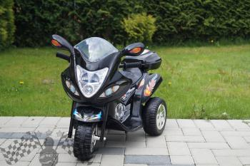 Elektrická motorka M čierna