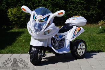 Elektrická motorka M biela