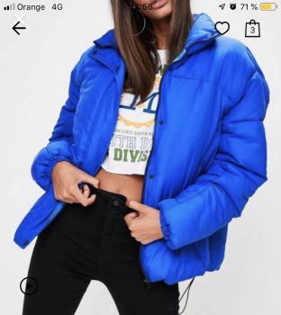 Zimná vatovana bunda