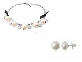 perlový set
