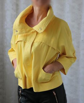 Kuriatkovo žltá bundička XL