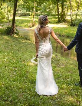 Svadobné šaty Velk 36