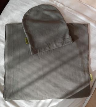 Predám šatku na nosenie detí Boba Wrap - Grey