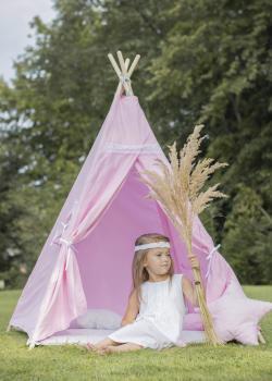 Ružový TEEPEE stan pre tvoju princezničku