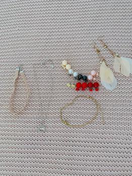 Set náhrdelník náramok náušnice