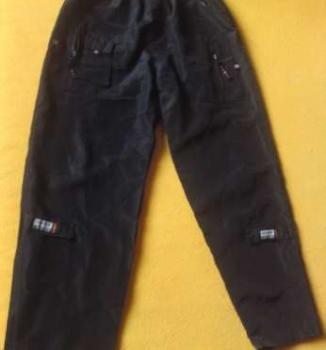 Chlapčenské šušťakové nohavice - 50