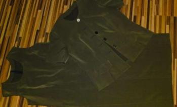Dámsky set - šaty s kabátikom - L