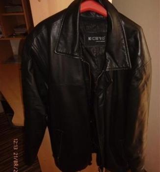 Kožený 3/4 kabát K CERO