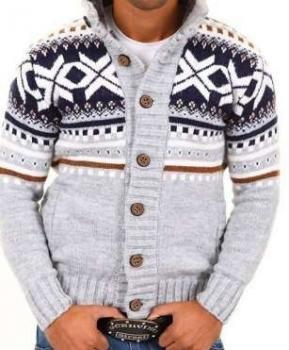 Krásny pánsky sveter ihneď k odberu veľk. XL