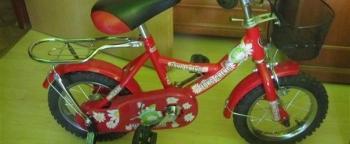 Dievčenský bicykel 3 - 5 rokov