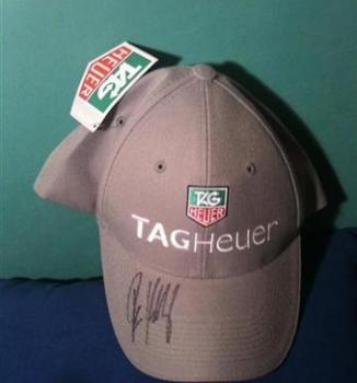 Predám orig. šiltovku Tag Heuer s podpisom Pete Samrasa